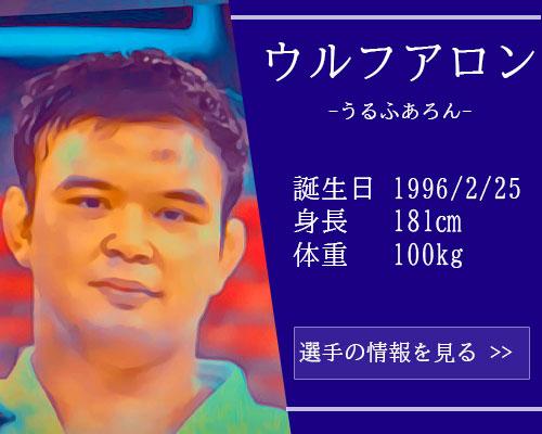 【東京五輪】柔道90kg級 ウルフアロン選手