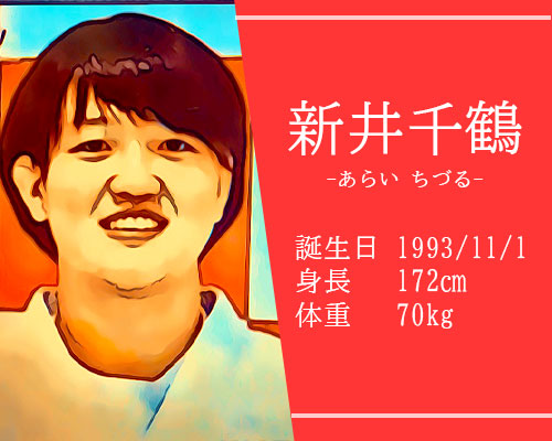 新井千鶴選手東京オリンピック