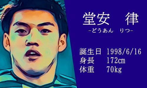 【東京五輪】サッカー日本代表 堂安律選手の活躍は?かっこいいインスタ