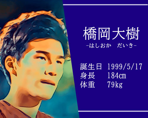 東京オリンピック男子サッカー代表橋岡大樹選手