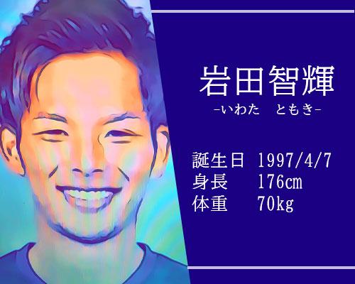 東京オリンピック男子サッカー代表岩田智輝選手