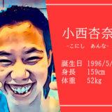 東京オリンピック女子競泳背泳ぎ代表小西杏奈選手