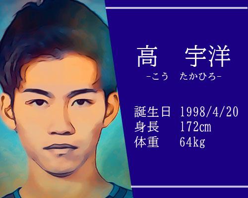 東京オリンピック男子サッカー代表高宇洋選手