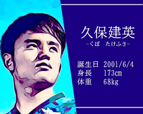東京オリンピック男子サッカー代表久保建英選手