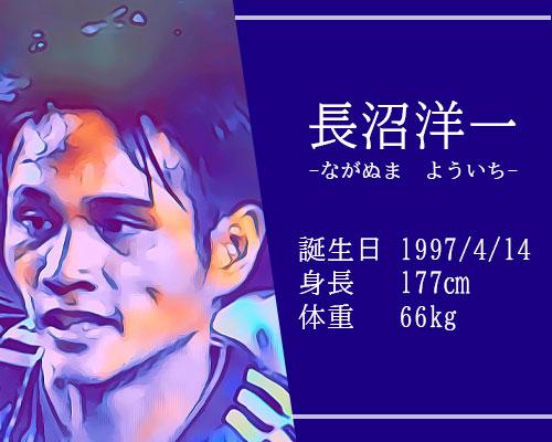 東京オリンピック男子サッカー代表長沼洋一選手