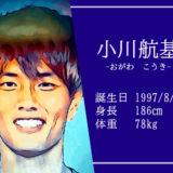 東京オリンピック男子サッカー代表小川航基選手