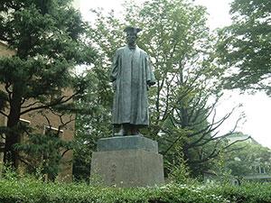 幌村尚選手の大学