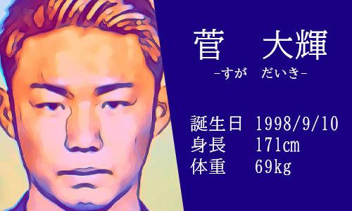 【東京五輪】サッカー日本代表 菅大輝選手の活躍は?かっこいいインスタ