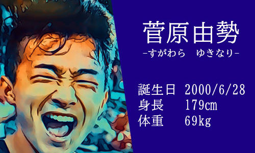 【東京五輪】サッカー日本代表 菅原由勢選手の活躍は?かっこいいインスタ