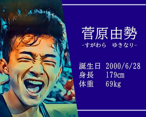 東京オリンピック男子サッカー代表菅原由勢選手