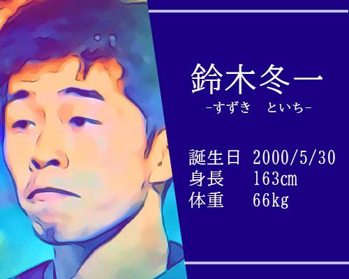 東京オリンピック男子サッカー代表鈴木冬一選手
