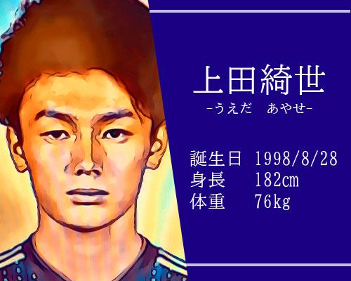 東京オリンピックサッカー日本代表 上田綺世選手