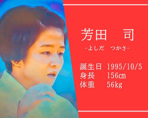 東京オリンピック芳田司選手