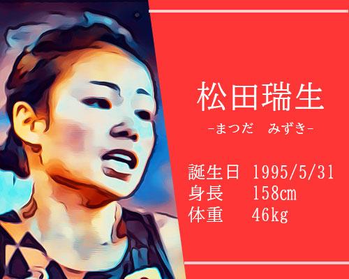 【東京五輪】女子マラソン代表 かわいい松田瑞生選手