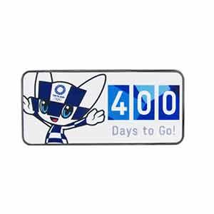 400 Days to Go! ピンバッジ(東京2020オリンピックマスコット)