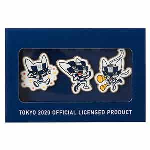 ピンバッジ3個セット(東京2020オリンピックマスコット)
