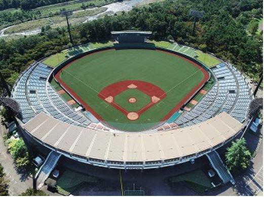 福島あづま球場の座席数や収容人数(キャバ)
