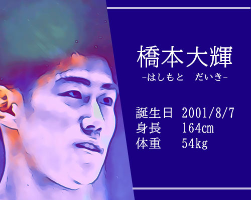 【東京五輪】体操男子 橋本大輝選手ってどんな人?かっこいい筋肉インスタ