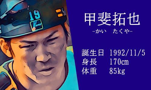 【東京五輪】野球代表 甲斐拓也選手の甲斐キャノンってなに?年俸は?結婚してるの?