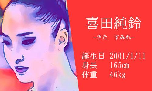 【東京五輪】新体操 喜田純鈴選手の家族構成は?かわいいインスタやコーチとの関係