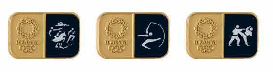 近代五種 ピンバッジ(東京2020オリンピックスポーツピクトグラム)